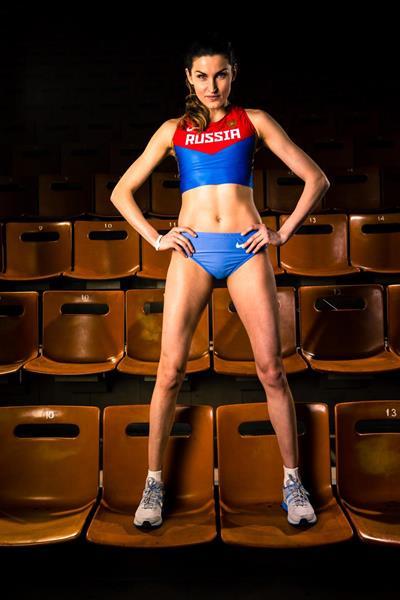 Russia's Anna Chicherova (SPIKES)