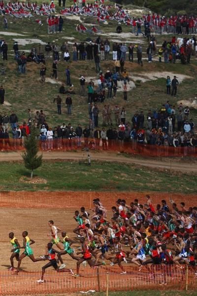 The junior men's race gets underway in Amman (Getty Images)