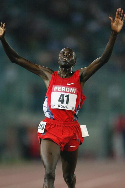 Abraham Chebii takes the 5000m in Rome (Getty Images)