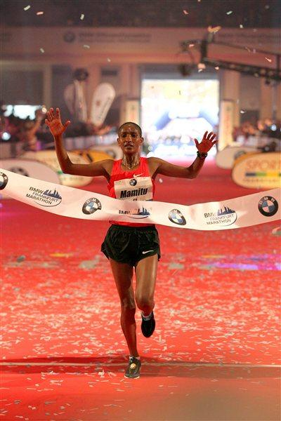 2:21:57 Frankfurt course record for Mamitu Daska (Victah Sailer)