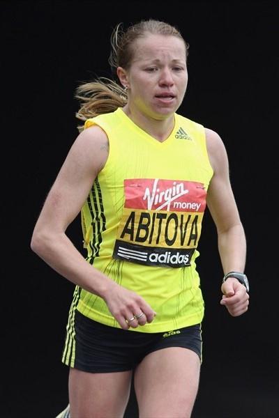 Inga Abitova, runner-up at the 2010 London Marathon (Getty Images)