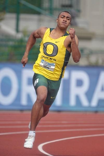 Another impressive NCAA outing for Ashton Eaton in Eugene (Kirby Lee)