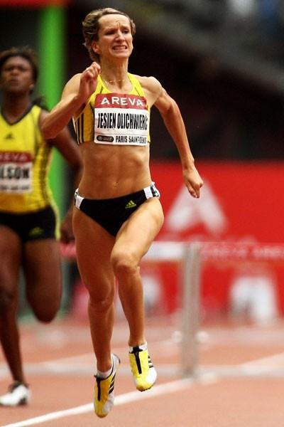 Anna Jesien takes her second Golden League victory of the year in the 400m hurdles (Getty Images)