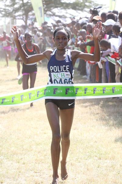 Margaret Muriuki wins in Nairobi (Stafford Ondego, The Standard)
