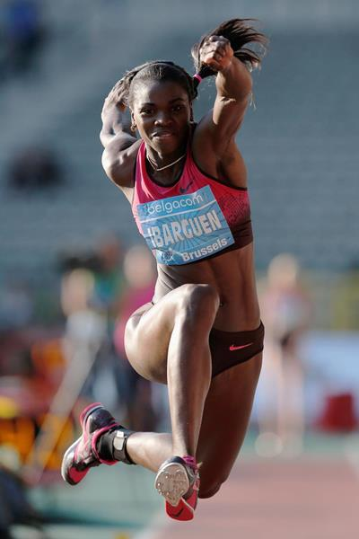 Colombian triple jumper Caterine Ibarguen (Getty Images)