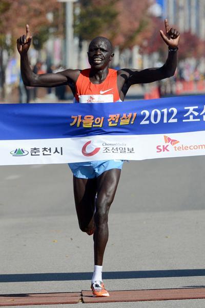 David Kemboi Kiyeng in Chuncheon (Chuncheon Organisers)