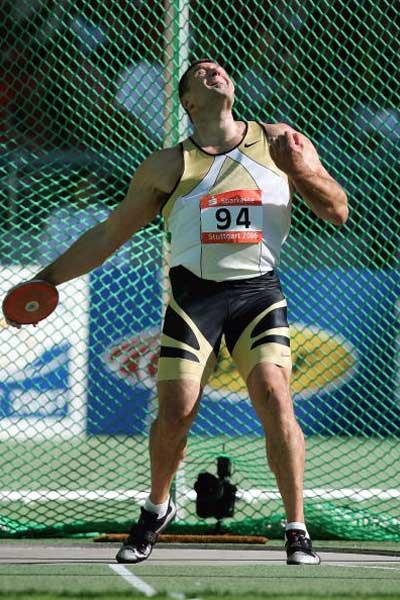 Virgilijus Alekna wins the World Athletics Final (Getty Images)