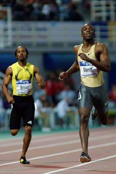 LaShawn Merritt continues his unbeaten season over 400m with another victory in Thessaloniki (Getty Images)
