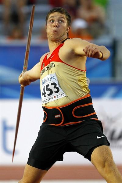 Till Wöschler's winning throw of 82.52m takes him to equal fourth on the world junior all time list (Getty Images)