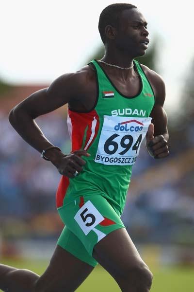 Abubaker Kaki of Sudan in action (Getty Images)