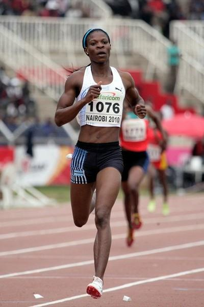 Amantle Montsho defends her African 400m title in Nairobi (Mohammed Amin)