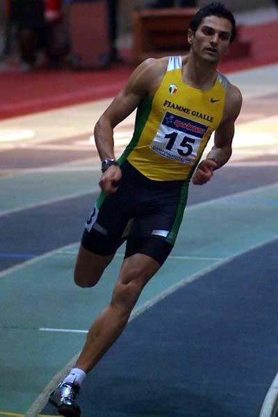 Claudio Licciardello at the Italian Indoor champs (Lorenzo Sampaolo)