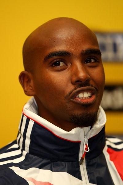 Mo Farah of Great Britain at the IAAF World Cross Country Championships pre-event Press Conference (Getty Images)