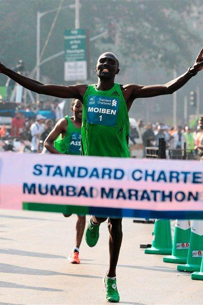 Laban Moiben takes narrow victory in Mumbai (Mumbai Marathon organisers)