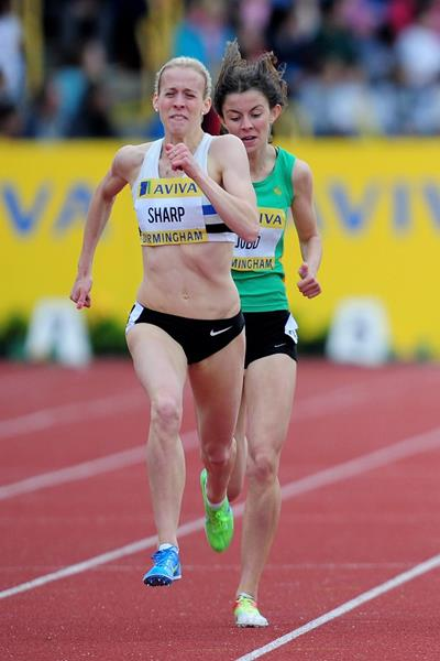 British 800m runner Lynsey Sharp (Getty Images)