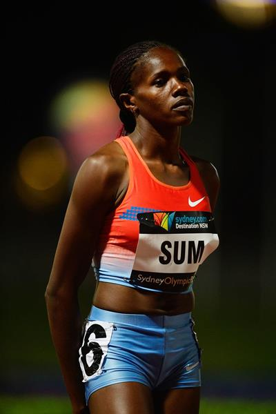 Eunice Sum at the 2014 Sydney Track Classic (Getty Images)