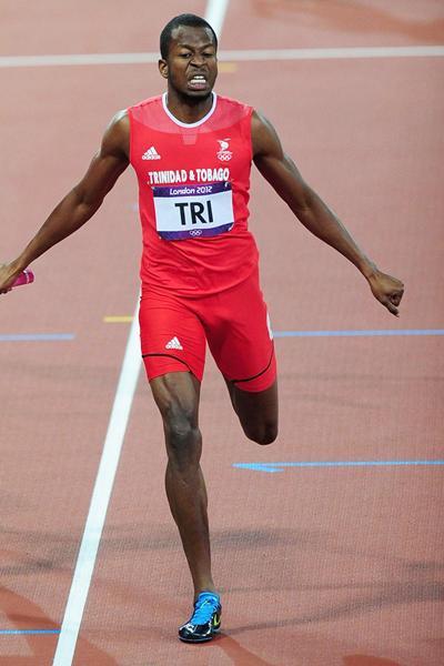 400m runner Deon Lendore of Trinidad & Tobago (Getty Images)