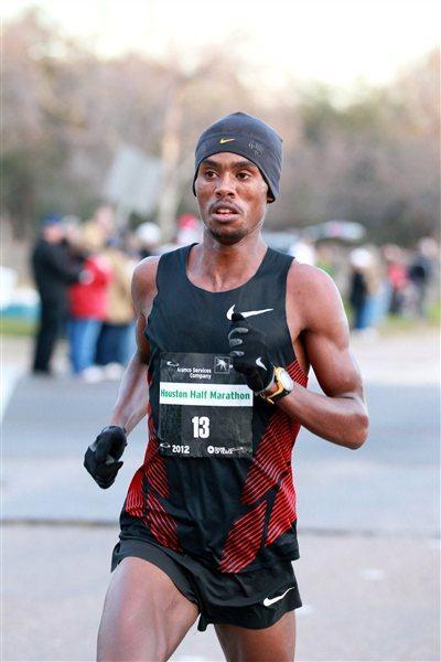 59:22 course record for Feyisa Lelisa in Houston (Victah Sailer)