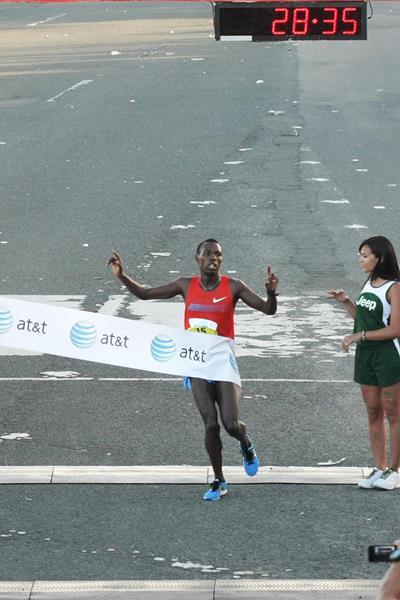 Bedan Karoki wins the World's Best 10K in San Juan (Organisers)