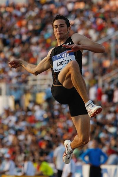 Fabrice Lapierre wins the World Athletics Final Long Jump for the second year in a row (Getty Images)