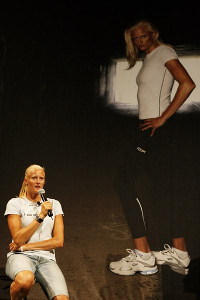 Carolina Kluft in Gothenburg (Getty Images)