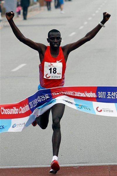 2:07:03 course record for Stanley Biwott in Chuncheon (Chuncheon organisers)