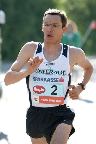 Günther Weidlinger at the 2009 Vienna City Marathon (VCM/Victah Sailer)