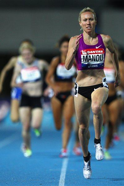 Tamsyn Manou wins the 800m at the 2012 Australian Olympic Trials (Getty Images)