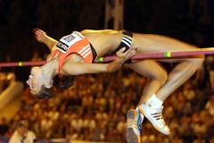 Blanka Vlasic clears 2.05m in Madrid (Jose Antonio Garcia Molero)