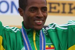 Cross Country gold No. 6 - Kenenisa Bekele in Edinburgh (Getty Images)