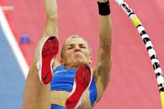 Anna Rogowska of Poland rises to a new national record of 4.79m (Getty Images)