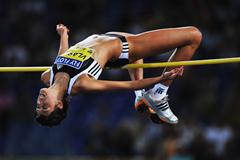 Blanka Vlasic maintains her unbeaten streak in the high jump (Getty Images)