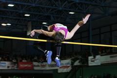 Mariya Kuchina wins the women's high jump in Trinec (LOC Beskydska latka)
