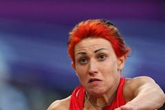 Tatyana Lebedeva of Russia competes in the Women's Triple Jump Final on Day 9 of the London 2012 Olympic Games at the Olympic Stadium on August 5, 2012 (Getty Images)