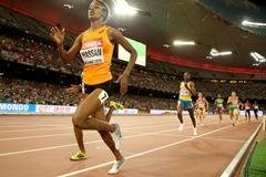 Sifan Hassan in the 1500m at the IAAF World Championships, Beijing 2015 (Getty Images)