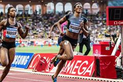 Another Diamond League victory for Blessing Okagbare, this time in Monaco (Philippe Fitte)
