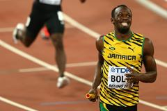 Usain Bolt anchors Jamaica to gold in the 4x100m at the IAAF World Championships, Beijing 2015 (Getty Images)