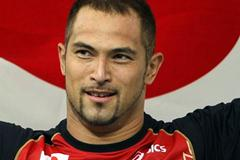 Koji Murofushi wins the men's Hammer Throw gold medal in Daegu (Getty Images)