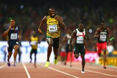 Usain Bolt anchors Jamaica to victory in the 4x100m at the IAAF World Championships, Beijing 2015 (Getty Images)