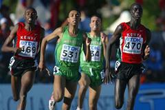 Abdelati Iguider of Morocco wins 1500m final (Getty Images)