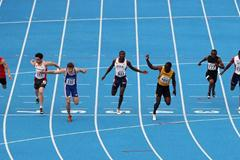 Christophe Lemaitre of France wins the Final of the Men's 200m (Getty Images)