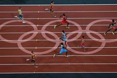 London 2012 Olympic 400m final ()