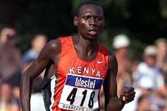 Isaac Songok in Debrecen 2001 - World Youth Champs (Getty Images)