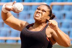 Cleopatra Borel of Trinidad and Tobago wins national Championships (Trinidad Express)