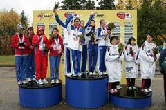 Women Teams Podium (Getty Images)