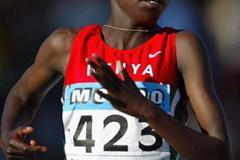 Jebichi Yator of  Kenya wins the Women's 3000m Final (Getty Images)