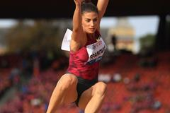 Ivana Spanovic at the 2014 IAAF Diamond League final in Zurich (Jean-Pierre Durand)