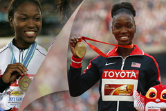 Tianna Bartoletta then and now ()