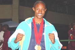 Triple jumper Khotso Mokoena, South African Junior record holder (Mark Ouma)