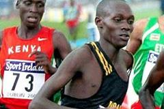 Boniface Kiprop of Uganda - junior bronze at 2002 World Cross Country (Mark Shearman)